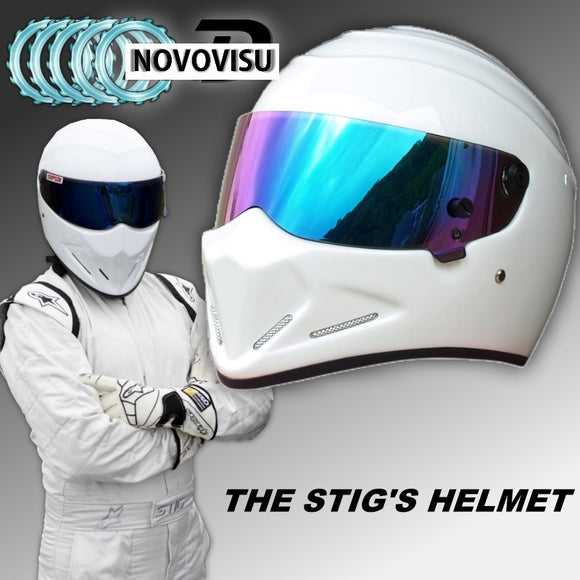 MOTORCYCLE HELMETS - THE STIG - 5 COLOUR CHOICE - 1PC - Hey Magento