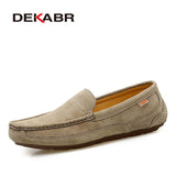 MENS GENIUNE LEATHER LOAFERS - 3 COLOUR CHOICE - 7 SIZE CHOICE - Hey Magento