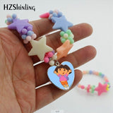 24 COLOURS - IPC - LITTLE GIRL PENDANT NECKLACE - Hey Magento
