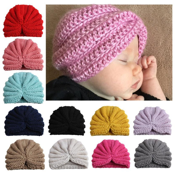 TODDLERS HOLLOWOUT WARM HAT - 12 COLOURS