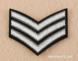 ARMY SHOULDER EMBRIODERED BADGES - 13 CHOICES - 1PC - Hey Magento