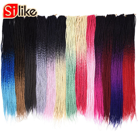 OMBRE SENEGALESE TWIST HARIR SYNTHETIC 24 INCH BRADING - 1PACK 95G