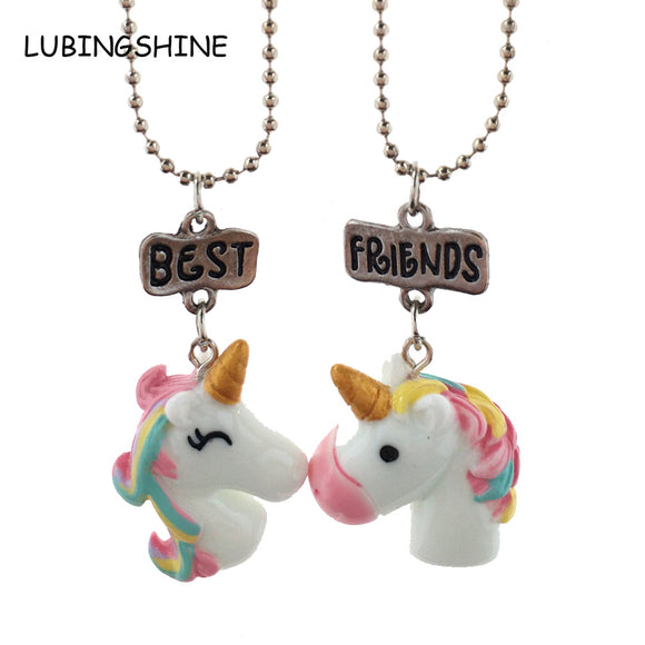 UNICORN BEST FRIEND NECKLACE PENDANT
