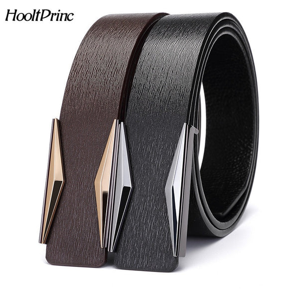 MENS SMOOTH AUTOMATIC LEATHER  BELTS