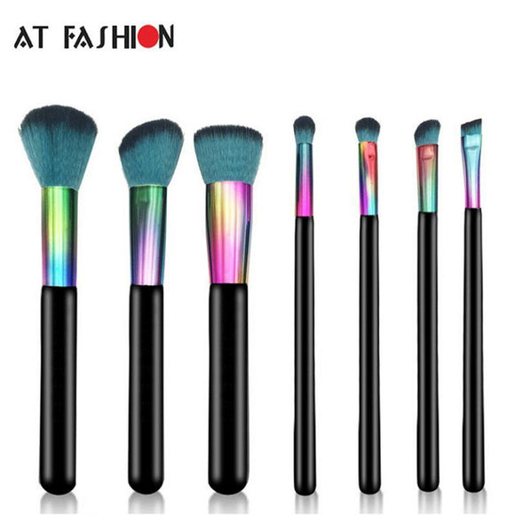 7PCS PROFESSIONAL MAKEUP BRUSH SET - Hey Magento