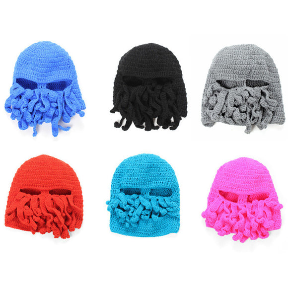 OCTOPUS TENTACLE BEANIE - 11 COLOURS - Hey Magento
