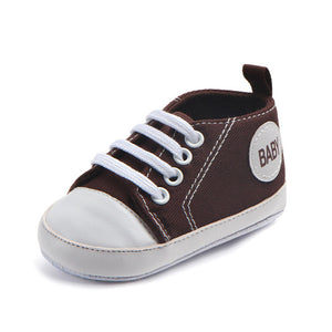 NEW INFANT CLASSIC SPORTS SNEAKERS - 14 COLOURS - 3 SIZES