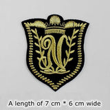 FASHION INSIGNIA - 36 CHOICES - 1PC EMBRIODERED CLOTH BADGE - Hey Magento
