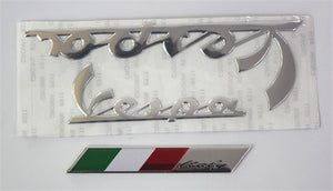 PIAGGIO VESPA 3D EMBLEM STICKER - 4 COLOURS - IPC - Hey Magento