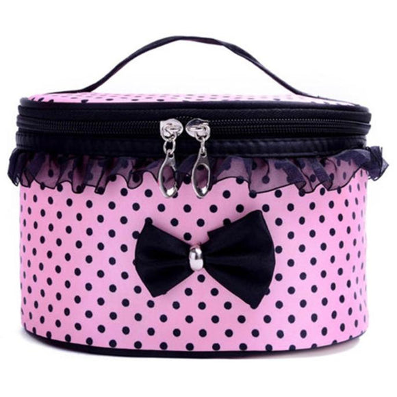 3 COLOUR CHOICE - PORTABLE MAKEUP TOILETRY COSMETIC BAG - Hey Magento