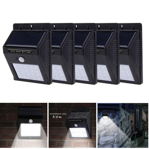 5PCS LOT - LED SOLAR LAMP WATERPROOF - GARDEN COURTYARD DRIVEWAY - Hey Magento