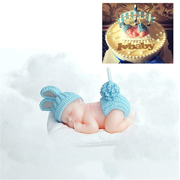 SLEEPING BABY DECORATIVE CANDLE