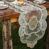 BEAUTIFUL EUROPEAN EMBROIDERY LACE TABLE RUNNER - Hey Magento