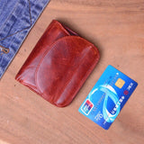 WOMEN LEATHER MINI COIN PURSE - Hey Magento