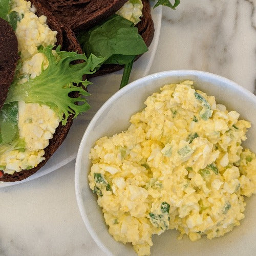Egg Salad (Serves 2, GF)