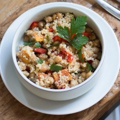 Chickpea & Couscous Salad  (Serves 2, DF)
