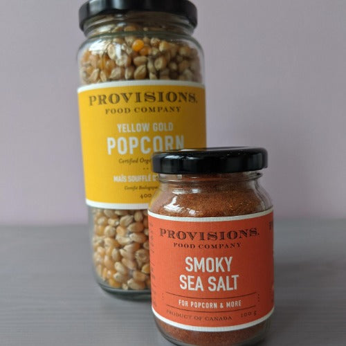 Provisions Smoky Sea Salt Popcorn Seasoning