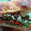 Roasted Veggie & Goat Cheese Sandwich