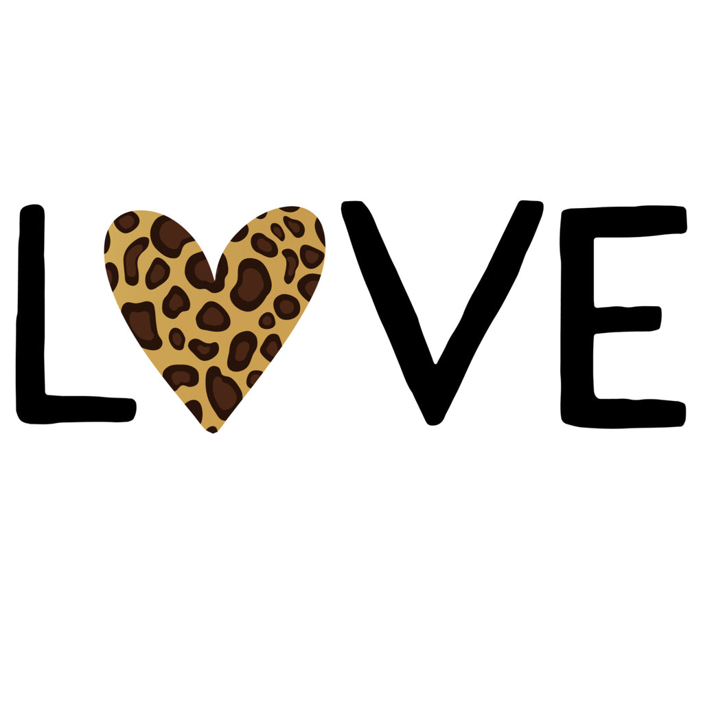 Leopard Heart Love