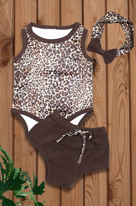 Wild Child Leopard Bodysuit