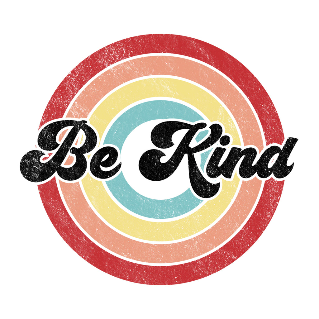 Be Kind Retro Circles