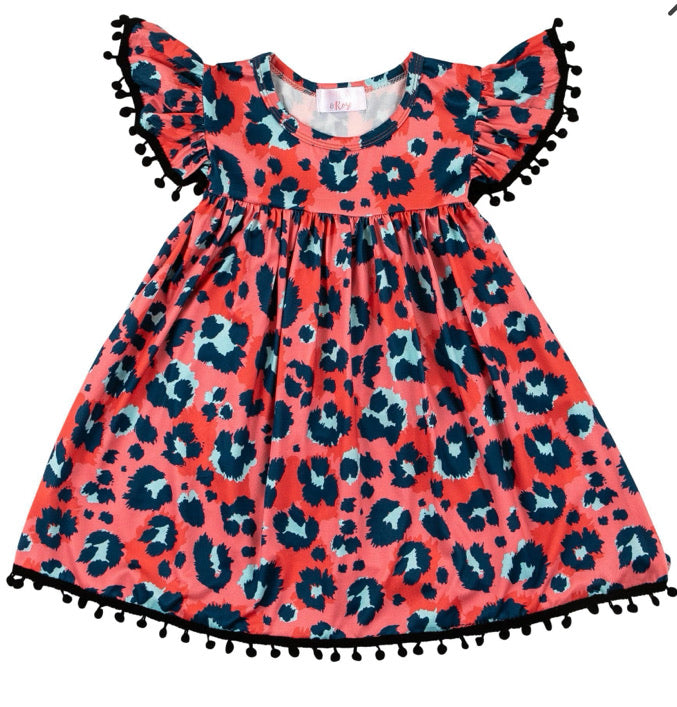 Spot On Pom Pom Dress