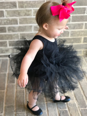 Black Tutu Leotard