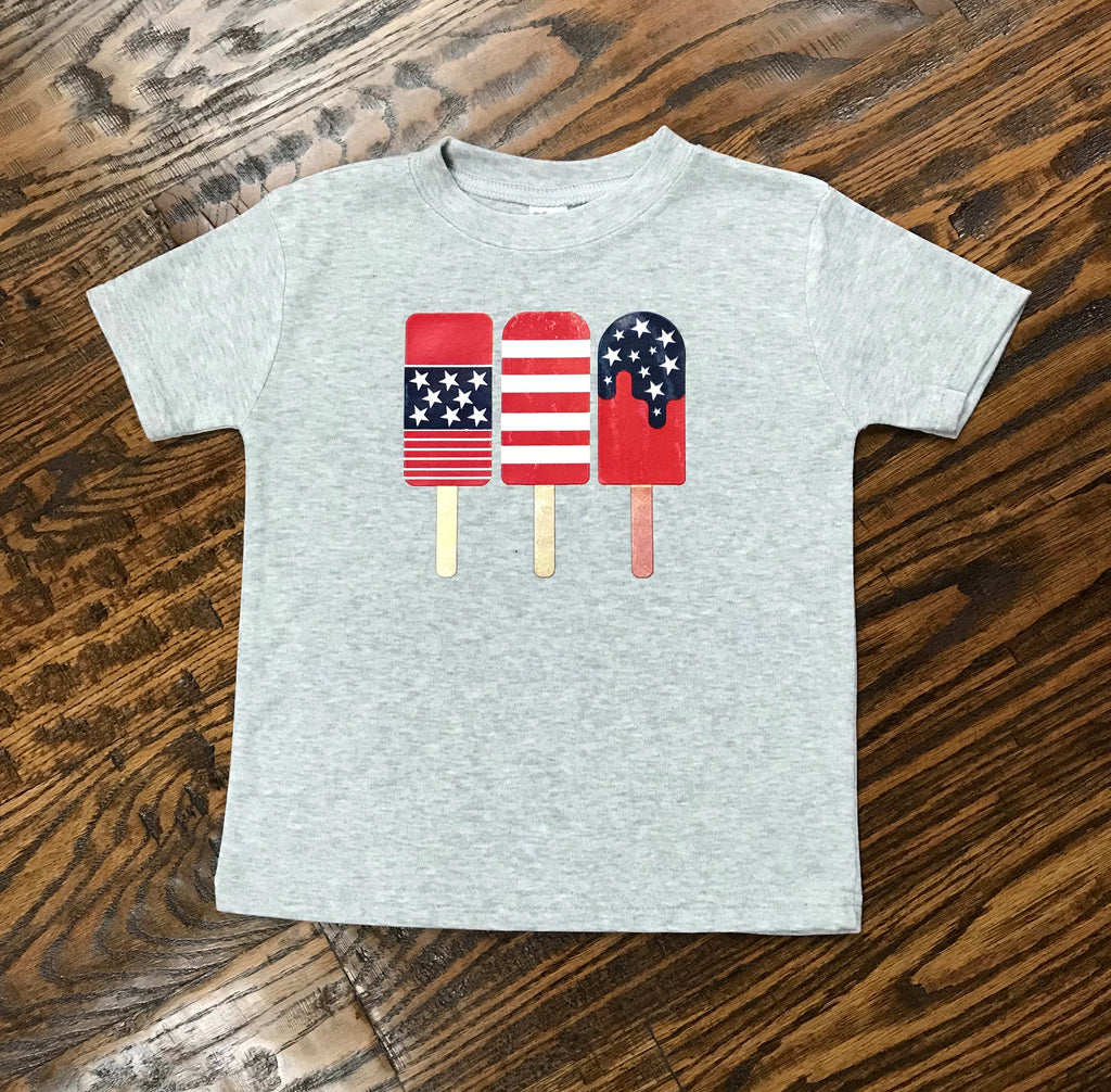Patriotic Popsicles T-shirt