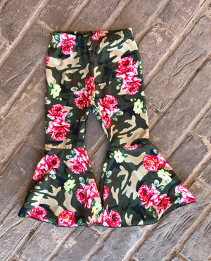 Camouflage & Roses 2-piece Set