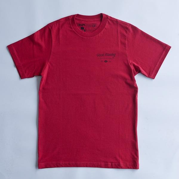 Explore Discover Tee - Short Sleeve - Red-Tees-Rock Monkey Outfitters
