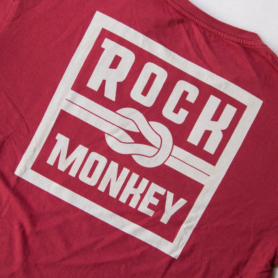 Knot Tee - Short Sleeve - Brick-Tees-Rock Monkey Outfitters