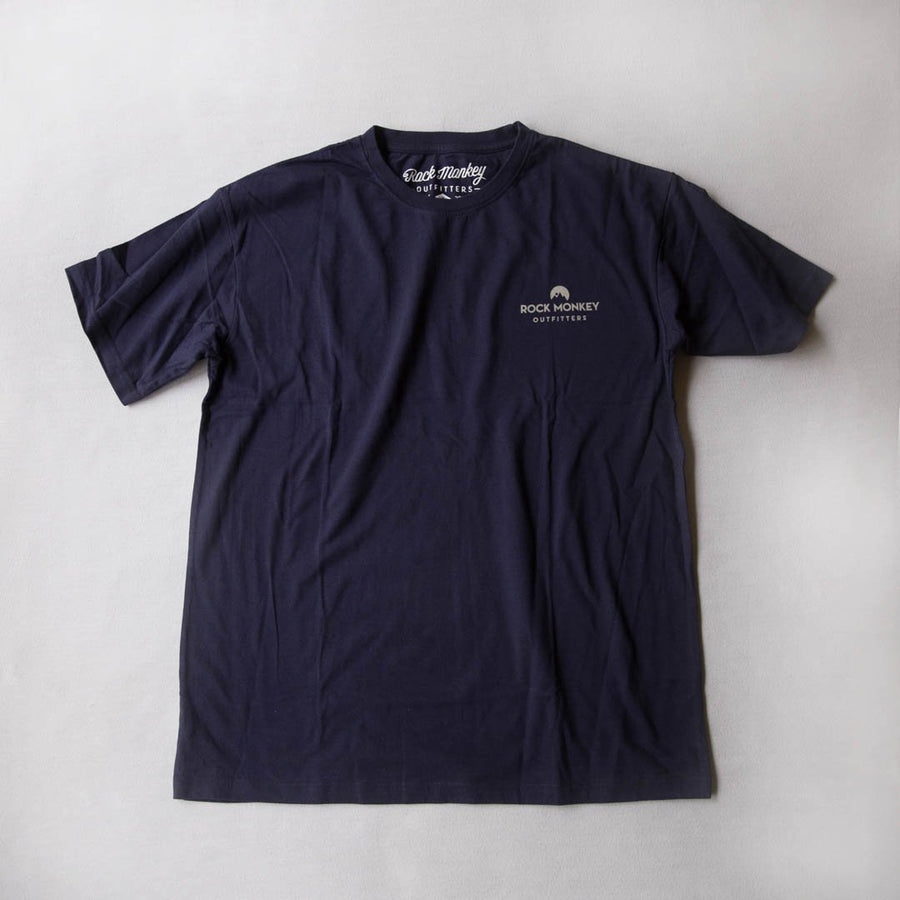 Knot Tee - Short Sleeve - Navy-Tees-Rock Monkey Outfitters