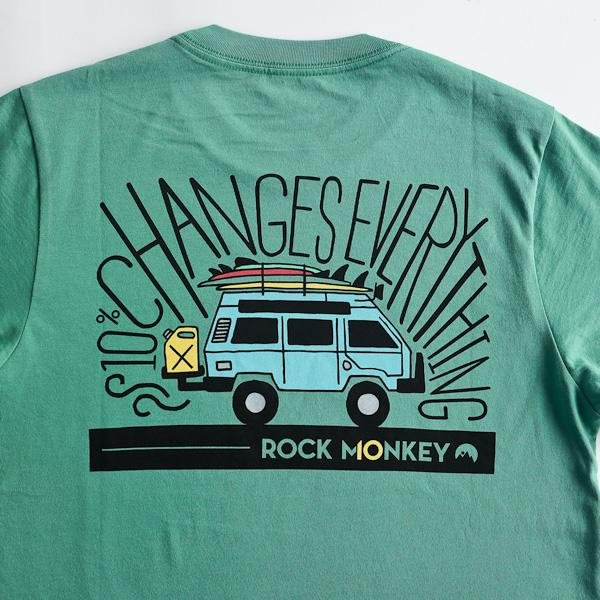 Limited Edition Jerry Can Tee - Short Sleeve - Everest Green-Tees-Rock Monkey Outfitters