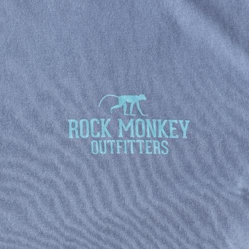 Living the Dream Tee - Short Sleeve - Cloud Grey-Tees-Rock Monkey Outfitters
