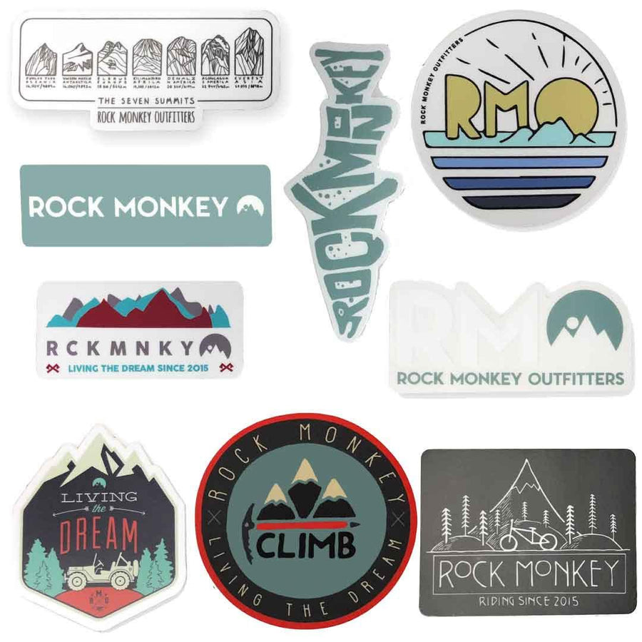 Rock Monkey Outfitters Sticker Pack-Accessories-Rock Monkey Outfitters