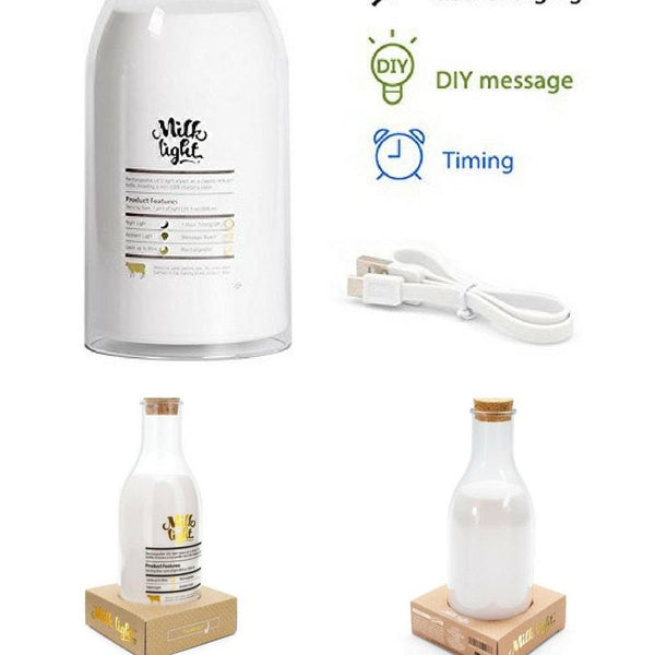 MILK LIGHT - SMART VOSS - https://smartvoss.com