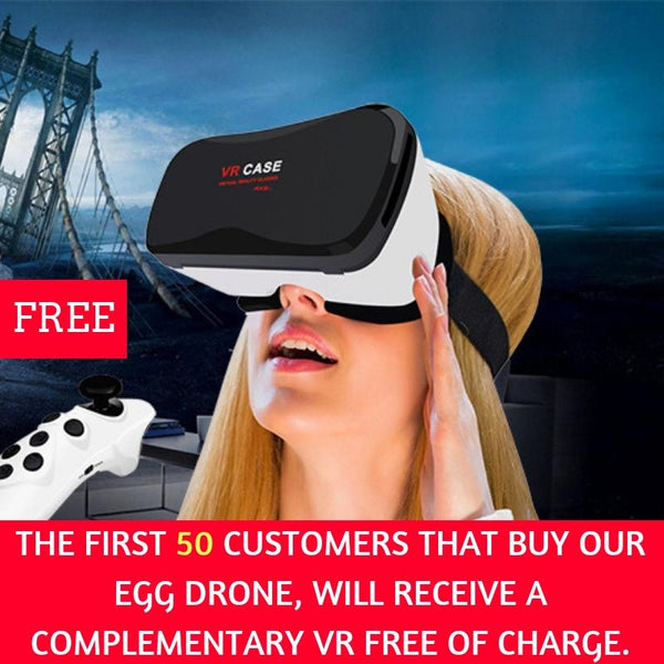 EGG DRONE **50% OFF - FREE INSURED SHIPPING WORLDWIDE** - SMART VOSS