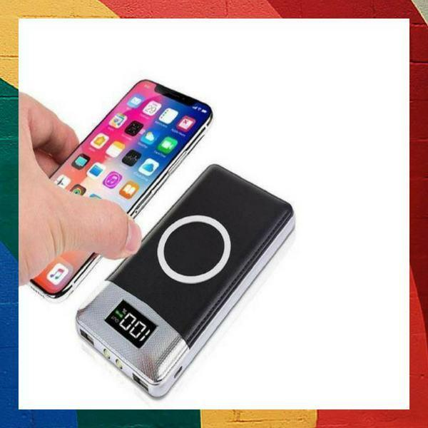 Wireless Portable Phone Charger [10000mAh W/ 2 USB] - SMART VOSS