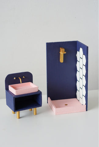 modern miniature dollhouse