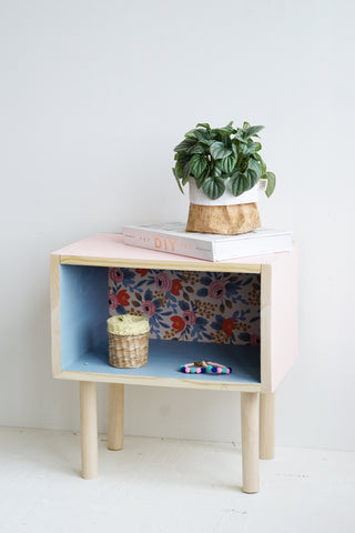 atelier DIY table de chevet
