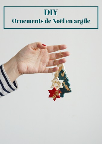 diy ornement de noel en argile