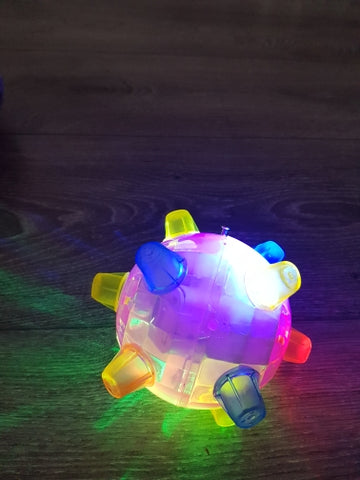 LED Jumping Vibrating Ball For Pet Toy