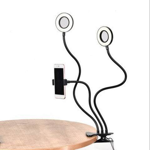 Selfie Ring Light with Flexible Mobile Phone Holder