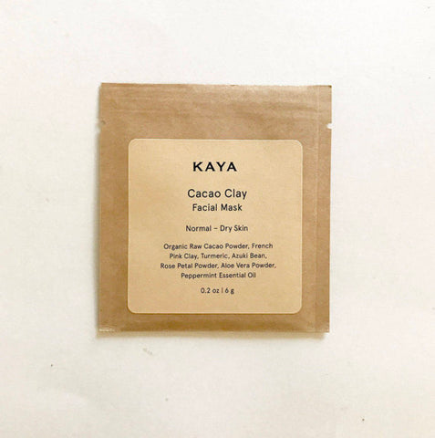 All Natural Cacao Clay Face Mask (Travel Size)