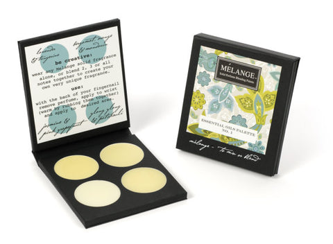 The Essential No 1. Solid Perfume Blending Palette