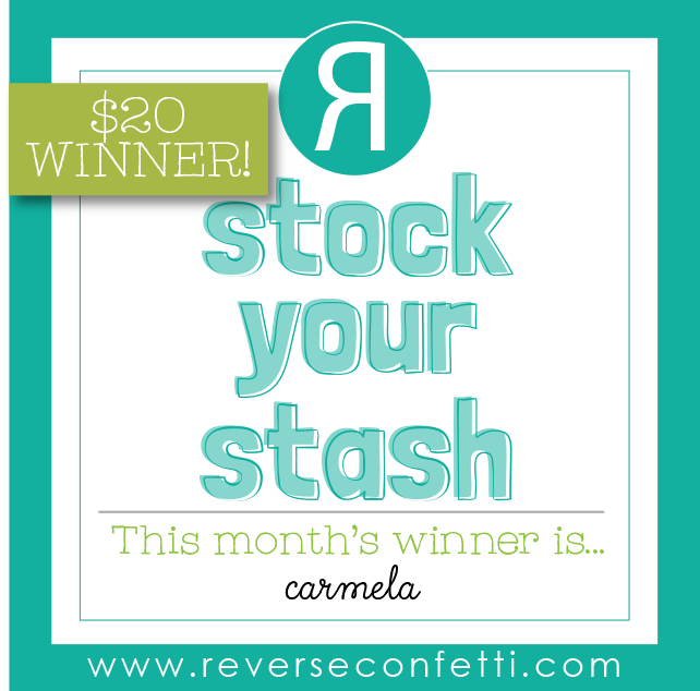 WINNER ANNOUNCEMENT - AUGUST STOCK YOUR STASH