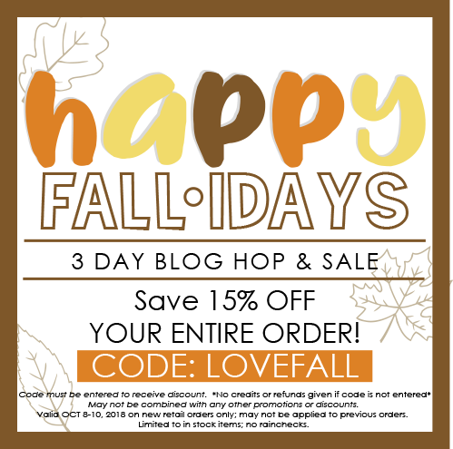 FINAL DAY OF FALL-IDAYS HOP & SALE
