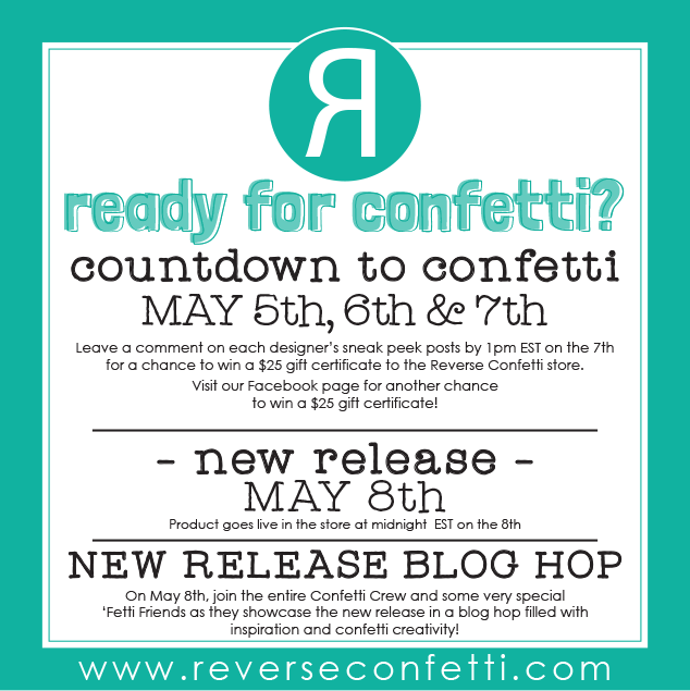 THE COUNTDOWN TO CONFETTI STARTS NOW