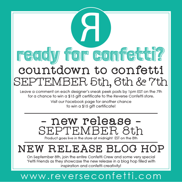 COUNTDOWN TO CONFETTI | SEPTEMBER RELEASE