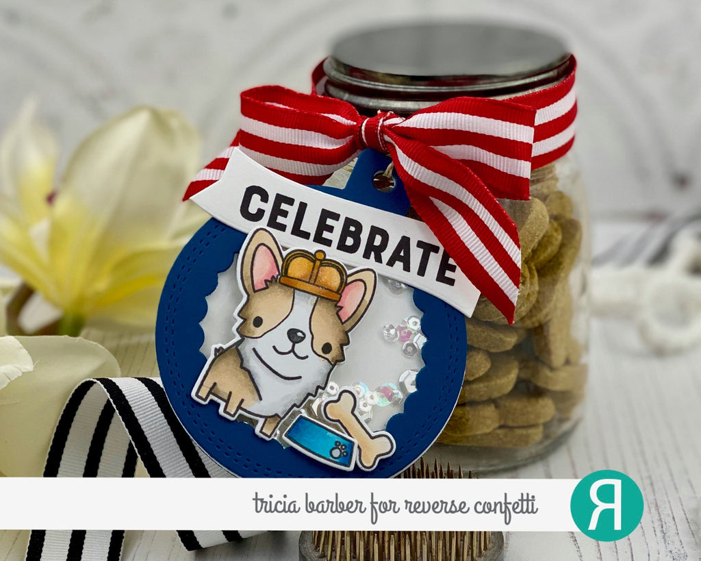 Inside Scallop Circle Tag Confetti Cuts